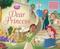 Disney Princess Dear Princess by Disney Book Group Hardcover Book (English) d1