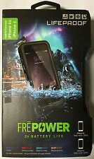 Authentic LifeProof Fre Power Battery Charging Case For iPhone 6 6s - Black -NEW