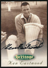 1996 Futera Ken Eastwood Signature Heritage Collection Cricket Card no. 39