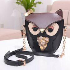 Owl Backpack - Gold Colored Chain