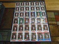 WASHINGTON WIZARDS JOHN WALL PRIZM LOT X49 W/ SILVERS, RW&B 17-18, 18-19, 19-20