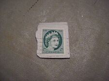 2 Cent E R Queen Canada Stamp Collectible