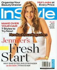 InStyle 1/06,Jennifer Aniston,January 2006,New
