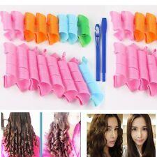 54 Piezas Magic Hair Curler DIY Circle Formers Espiral Hair Styling Rulos Tool