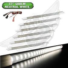 "6x RV LIGHT BULB T5 12"" fluorescent tube replacement LED 400 Lumen Natural White"