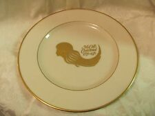Lenox ivory McCall's Centennial 1876-1976 plate gold American Woman