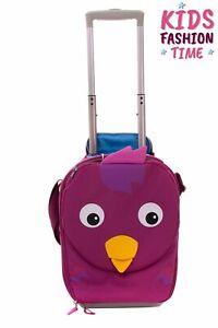 AFFENZAHN Bella Bird Suitcase Cabin Size Lightweight Shoulder Strap Two Wheels