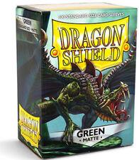 100 Bustine protettive Dragon Shield Matte Matto Magic Standard Verde