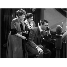Cary Grant Talking on Phone with Women Behind 8 x 10 Inch Photo