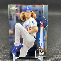2020 Topps Chrome Baseball Dustin May RC Los Angeles Dodgers Rookie Card #176