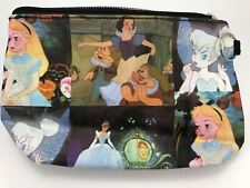 Disney Princess Makeup Cosmetic Bag Snow White Tinker Belle Alice Cinderella