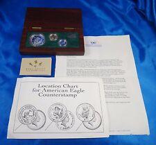 1992 Australia $1 $25 Platinum Gold Silver Proof Coin Set Box COA