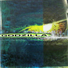 GODZILLA THE ALBUM  cd ost JIMMY PAGE RAGE AGAINST THE MACHINE FOO FIGHTERS