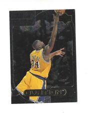 1999-00 UPPER DECK OVATION CURTAN CALLS SHAQUILLE O'NEAL #CC6 LOS ANGELES LAKERS