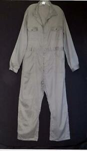 VINTAGE 1970'S BELGIUM MADE  WORK COTTON COVERALLS SUIT SIZE 2XL