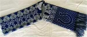 """Indianapolis Colts NFL Reversible """"Ugly Sweater"""" Reindeer 60"""" Team Knit Scarf"""