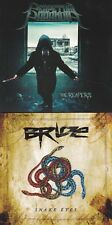 LOT OF 2 CD BRIDE - SNAKE EYES + PERPETUAL PARANOIA (2018) Dale Thompson BRIDE