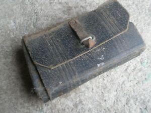 sacoche ancienne . .solex . velo .outil ancien . objet ancien