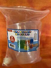 Lakeshore Graduated Plastic Beaker Set 100 200 300 500 1000 Ml