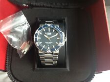 Oris Blue Aquis Date Watch