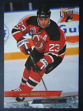 NHL 214 Bruce Driver New Jersey les diables FLEER ULTRA 1993/94