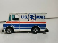 Hot Wheels Vintage Flying Colors RED WHITE  BLUE 1976 U.S. Mail Truck