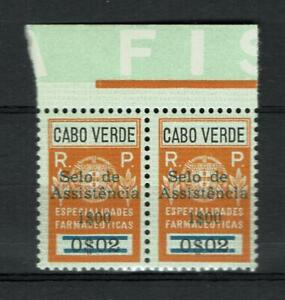 Cabo Verde Cape Verde Portugal & Colonies Revenue Stamp Estamphila Fiscal 5