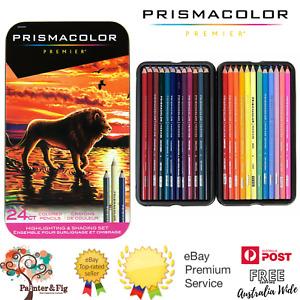 Prismacolor Premier Coloured Pencils 24 Set - Highlighting & Shading Set
