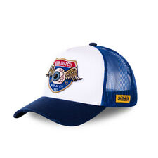 VON DUTCH BASEBALL CAP EYE BLUE/WHITE **BRAND NEW & IN STOCK**