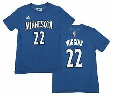Adidas NBA Youth Minnesota Timberwolves Andrew Wiggins #22 Tee