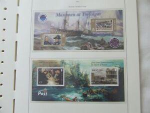 ISLE OF MAN MNH STAMPS - 2005 TRAFALGAR