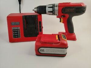 Craftsman Professional 12V1/2in Cordless Drill Driver 320.26302 with Charger.