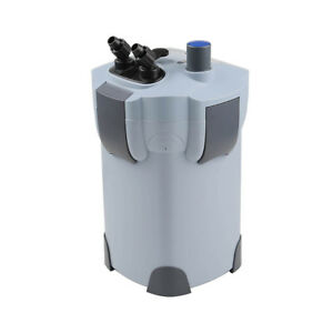 3-Stage External Aquarium Filter 265GPH UV 9W with builtin pump kit CANISTER