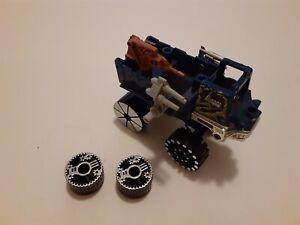 Vintage Jayce and the Wheeled Warriors Mattel KO Cruiser KOCruiser blue truck