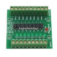 12V Input 5V Output Optocoupler Isolation Control Panel 8 Channel Signal Board