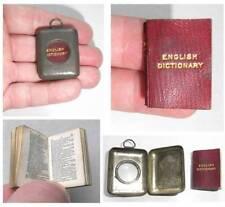 European Original Miniature Antiquarian & Collectable Books