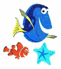 "2.5"" DISNEY FINDING NEMO FISH OCEAN CHARACTER FABRIC APPLIQUE IRON ON"
