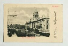 IRISH POSTCARD,THE CUSTOM HOUSE,DUBLIN,IRELAND, XX11