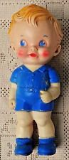 """VINTAGE 1950's RUTH NEWTON RUBBER BOY DOLL - THE SUN RUBBER COMPANY - 8"""" TALL"""
