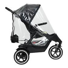 Phil&teds Regenschutz Storm Cover passt für Dot, Sport, Dash 2019+ Kinderwagen !