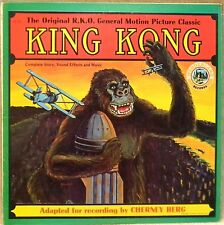 "KING KONG Complete Story on 12"" 33 RPM LP - 1974  Good Cond R.K.O."