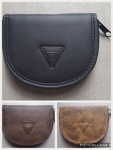 HIGH QUALITY MENS LADIES GENTS FAUX LEATHER  PURSE WALLET CHANGE POUCH COIN TRAY