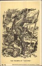 Satire Anti-German Propaganda Kaiser Wilhelm Over Dead Bernard Partridge