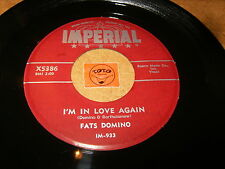 FATS DOMINO - I'M IN LOVE AGAIN - MY BLUE HEAVEN  / LISTEN - ROCK AND ROLL