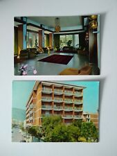 2 x POSTCARDS GRAND HOTEL CESARE AUGUSTO SORRENTO ITALY UNPOSTED