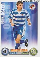 JOHN OSTER  # WALES READING.FC CARD PREMIER LEAGUE 2008 TOPPS