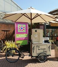 More details for ice cream trike, bike, cart, tricycle, vintage, retro,