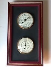 Indoor Thermometer and Barometer Wall Mount