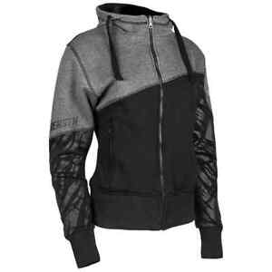 Speed and Strength Cat Outa Hell 2.0 Womens Motorcycle Ladies Armored Hoodies