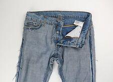 Maison Martin Margiela X H&M HM Inside Out Denim Jeans Size 29 30 x 30